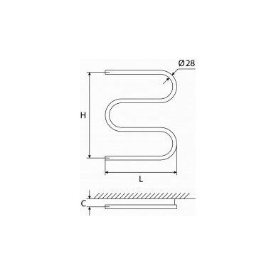 Nerūdijančio plieno gyvatukas Elonika EN 400/460/470 S 2