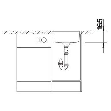 Nerūdijančio plieno plautuvė Blanco Rondosol (46x39 cm) 7