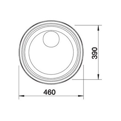 Nerūdijančio plieno plautuvė Blanco Rondosol (46x39 cm) 5