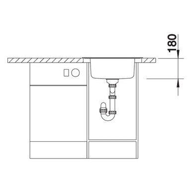 Nerūdijančio plieno plautuvė Blanco Rondoval 18/10 (53,5x49 cm) 7