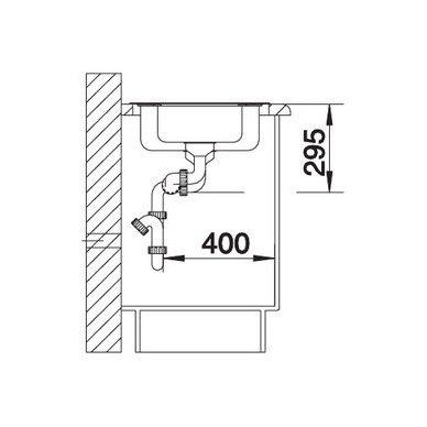 Nerūdijančio plieno plautuvė Blanco Tipo 6 18/10 (60,5x50 cm) 4