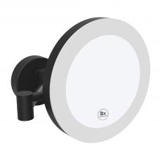 Pakabinamas kosmetinis veidrodis su LED apšvietimu Bemeta Dark 116101770