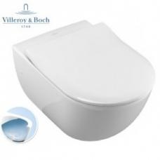 Pakabinamas unitazas Villeroy&Boch AVENTO DirectFlush su Slim SoftClose dangčiu