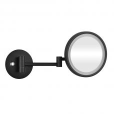 Pakabinamas kosmetinis veidrodis su LED apšvietimu Bemeta Dark
