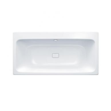 Plieninė vonia Kaldewei Asymmetric Duo ir sifonas su emaliuotais dangteliais 5