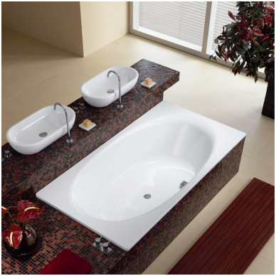 Plieninė vonia Kaldewei Ellipsio Duo 190x100 2