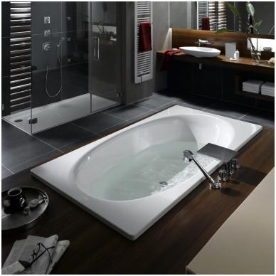 Plieninė vonia Kaldewei Ellipsio Duo 190x100
