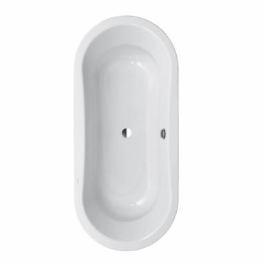 Plieninė vonia Laufen Thalium Oval 180x80