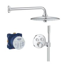 Potinkinė dušo sistema Grohe Smart Control su 26 cm skersmens dušo galva
