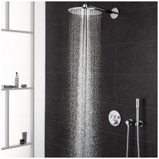 Potinkinė dušo sistema Grohe Smart Control su metaline 31 cm skersmens galva