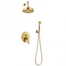 Potinkinė dušo sistema Omnires Art Deco SYSAD27GL