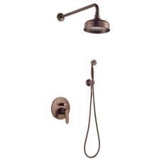 Potinkinė dušo sistema Omnires Art Deco SYS AD28 ORB