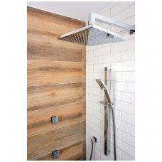 Potinkinė dušo sistema su masažiniais purkštukais Omnires Fresh SYS FR12