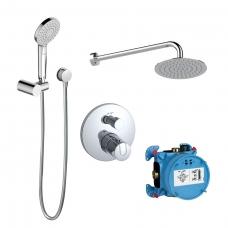 Potinkinė dušo sistema su temostatu Ideal Standard Ceratherm 100