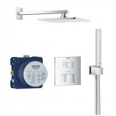 Potinkinė termostatinė dušo sistema Grohtherm Cube