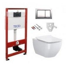 Potinkinio WC rėmo TECE ir pakabinamo klozeto Opoczno Metropolitan CleanOn