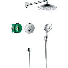Potinkinis termostatinis dušo komplektas Hansgrohe Raindance Select S