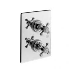 Potinkinis termostatinis 2-jų padėčių dušo maišytuvas Alpi London
