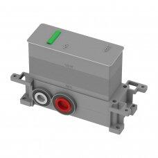 Potinkinis termostatinis aukso spalvos vonios/dušo maišytuvas su 2 išėjimais Omnires