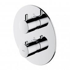 Potinkinis termostatinis vonios/dušo maišytuvas su 2 išėjimais Omnires