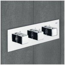 Potinkinis termostatinis trijų taškų vonios/dušo maišytuvas Alpi Una18