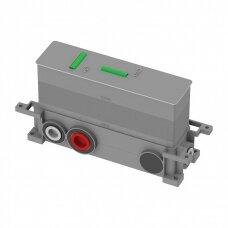 Potinkinis termostatinis trijų taškų vonios/dušo maišytuvas Omnires Y1238/KROGL Y