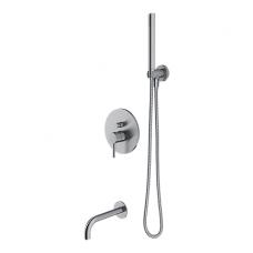 Potinkinis vonios/dušo maišytuvas Omnires SYS Y W01 (nikelio spalvos)