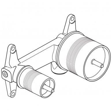 Potinkinė dalis sieniniam praustuvo maišytuvui Ideal Standard Ceraline 2