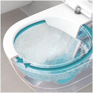 Potinkinio rėmo Grohe ir pakabinamo klozeto Villeroy & Boch Subway 2.0 Direct Flush su Slim dangčiu komplektas 3