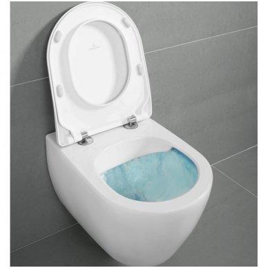 Potinkinio rėmo Grohe ir pakabinamo klozeto Villeroy & Boch Subway 2.0 Direct Flush su Slim dangčiu komplektas 5