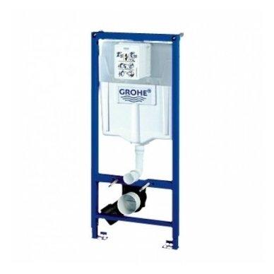 Potinkinio rėmo ir vandens nuleidimo mygtuko komplektas Grohe Rapid SL 3in1 2