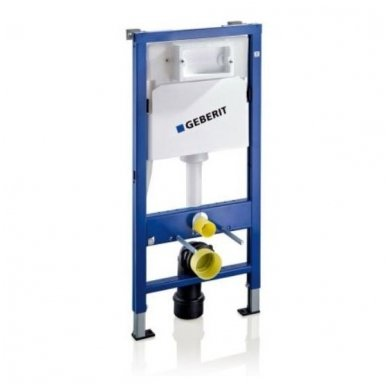 Potinkinio WC rėmo Geberit ir klozeto Ideal Standard Connect Aquablade su lėtaeigiu dangčiu komplektas 2