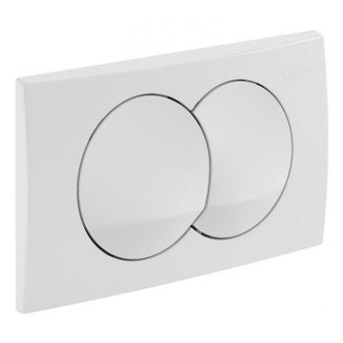 Potinkinio WC rėmo Geberit  komplektas su laikikliais ir baltu mygtuku 4