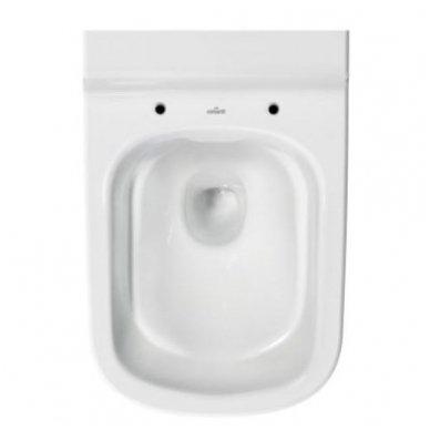 Potinkinio WC rėmo Grohe ir klozeto Cersanit Caspia Clean-on su plonu lėtaeigiu dangčiu komplektas 4