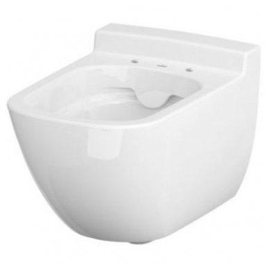 Potinkinio WC rėmo Grohe ir klozeto Cersanit Caspia Clean-on su plonu lėtaeigiu dangčiu komplektas 3