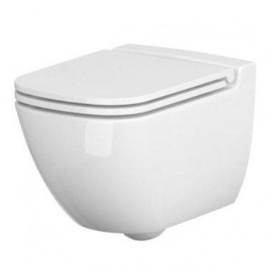 Potinkinio WC rėmo Grohe ir klozeto Cersanit Caspia Clean-on su plonu lėtaeigiu dangčiu komplektas 2