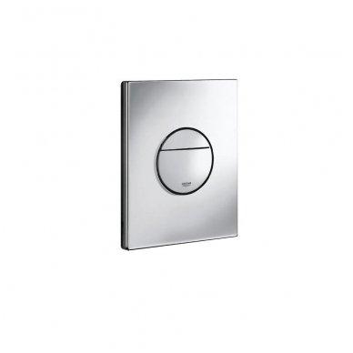 Potinkinio WC rėmo Grohe Rapid SL 4in1 ir pakabinamo klozeto Ravak Classic Rimoff su plonu lėtaeigiu dangčiu komplektas 8