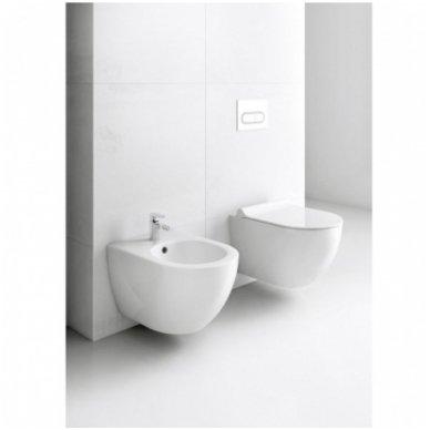 Potinkinio WC rėmo Laufen ir klozeto Ravak Uni Chrome RimOff  komplektas 5
