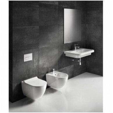 Potinkinio WC rėmo Laufen ir klozeto Ravak Uni Chrome RimOff  komplektas 6