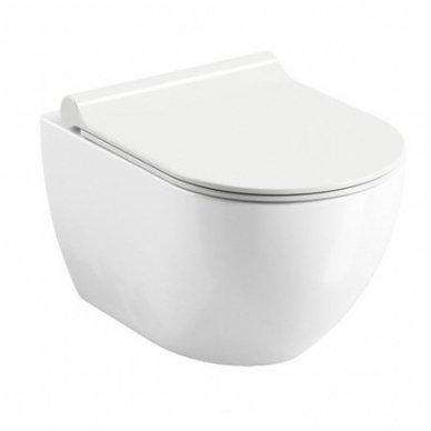 Potinkinio WC rėmo Laufen ir klozeto Ravak Uni Chrome RimOff  komplektas 3