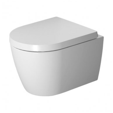 Potinkinio WC rėmo Tece ir klozeto Duravit ME by Starck Compact Rimless komplektas 2