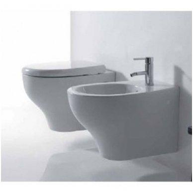 Potinkinio WC rėmo Tece ir klozeto Galassia Eden Rimless komplektas 3
