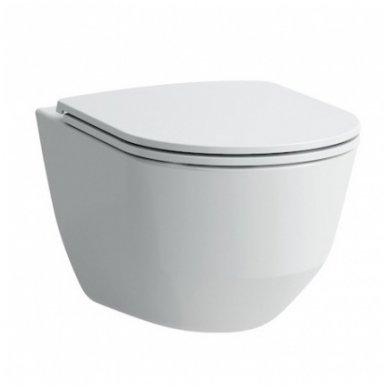 Potinkinio WC rėmo TECE ir klozeto Laufen PRO su plonu lėtaeigiu dangčiu komplektas 2