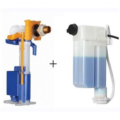 Potinkinis rėmas OLI 120 su klozeto dezinfekavimo rinkiniu OLIPURE bei mygtuku GLAM (spalvų pasirinkimas) 7