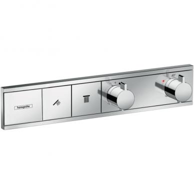 Potinkinis termostatinis 2-jų funkcijų dušo maišytuvas Hansgrohe RainSelect (spalvų pasirinkimas)