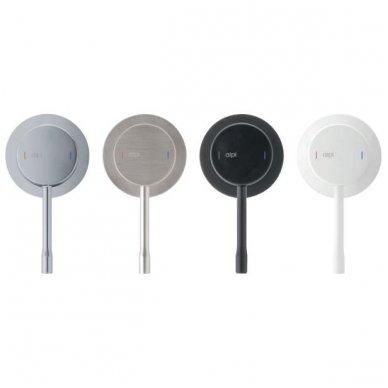 Potinkinis termostatinis vonios/dušo maišytuvas su rankiniu dušu Alpi Blue 4