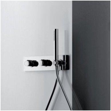 Potinkinis termostatinis vonios/dušo maišytuvas su rankiniu dušu Alpi Nu 2