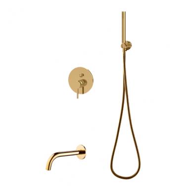 Potinkinis vonios/dušo maišytuvas Omnires SYS YW01 ZL (aukso spalvos)