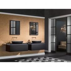 Praustuvas Villeroy & Boch Artis juodos spalvos 58X38cm