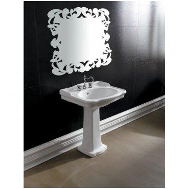 Praustuvas Alice Ceramica Boheme Lavabo 67,5x55 cm
